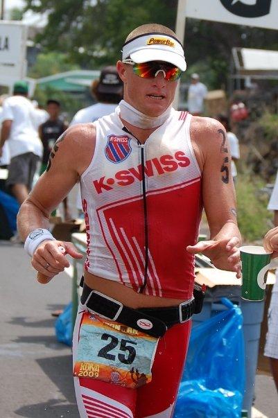K-Swiss Sponsored Triathlete