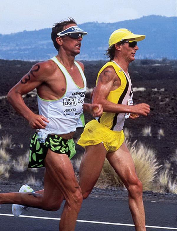 Dave Scott and Mark Allen