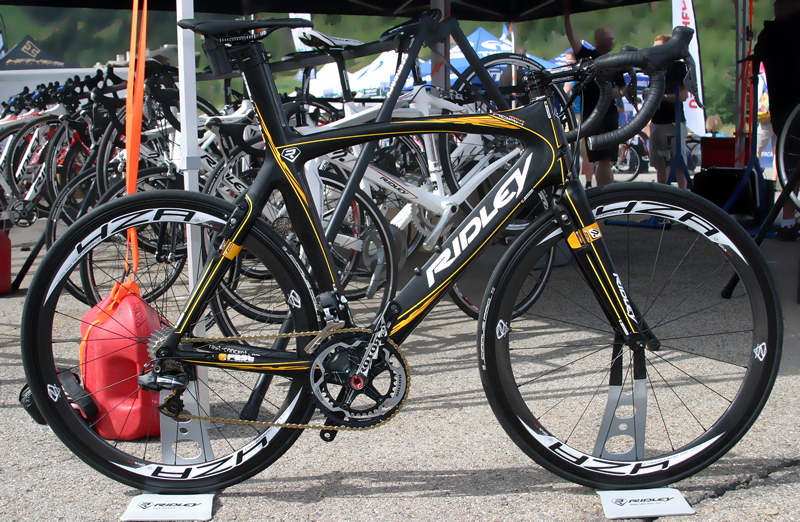 This Unusual Ridley Road Bike Used Integrated Aerodynamic Brakes