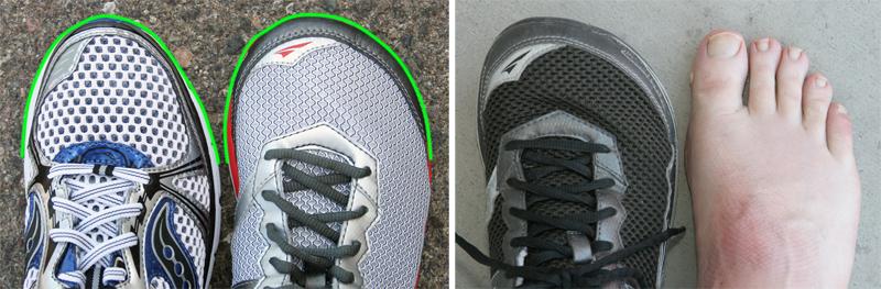 Cushioned Running Shoe With Wide Toe Box ~ Altra Zero Drop Running