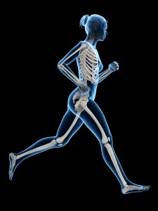 running with hip extension