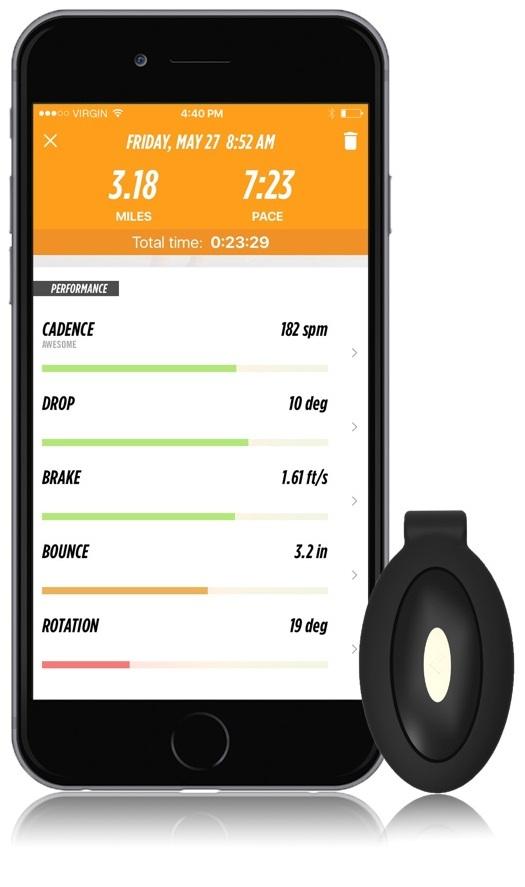 The Lumo Run Sensor & Clip