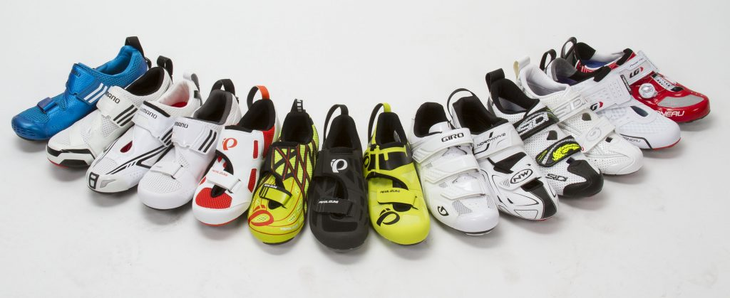 Line of Men's Tri Shoes