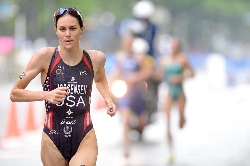 Gwen Jorgensen Run