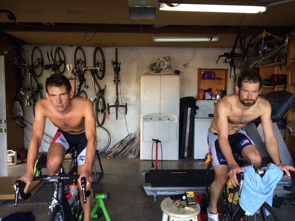 By month 5 without racing, there's a certain amount of… tedium