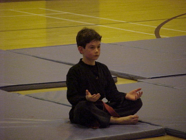 My meditation habits started early.