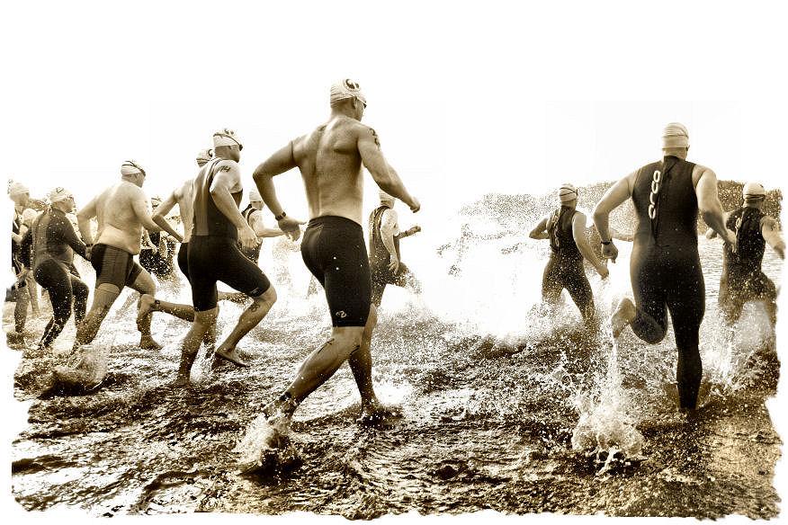 triathlon-start