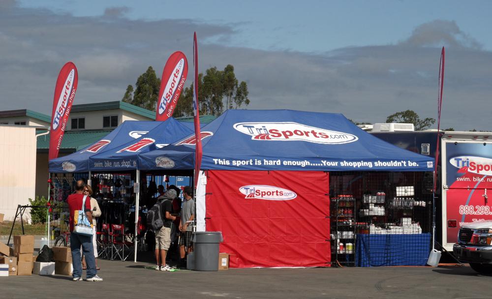 TriSports com's mobile triathlon store at the Avia Vineman