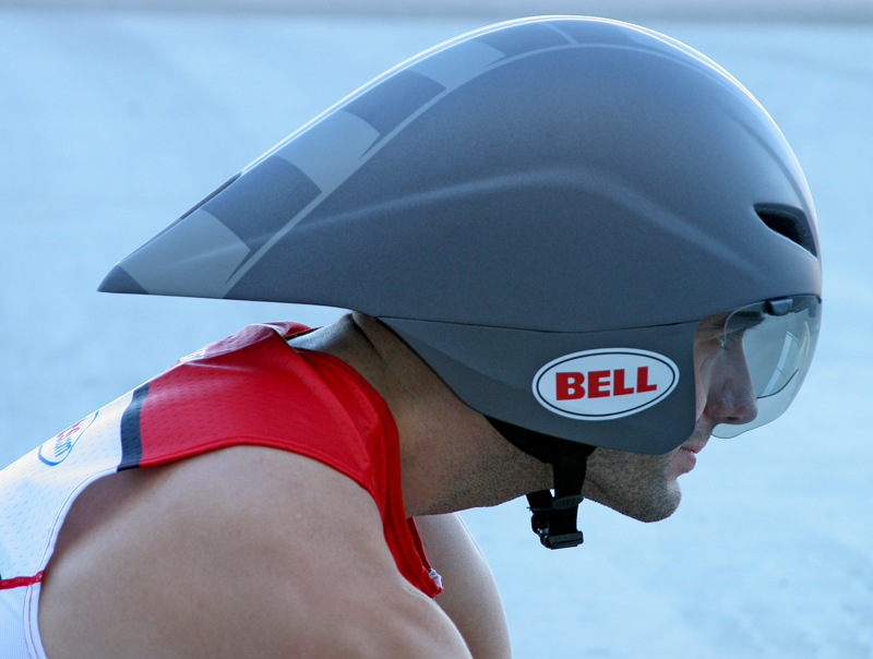 helmet aero bell javelin triathlon visor aerodynamics benefits ls ventilation university tri trisports outruns corvette jeep powered shell retaining donning
